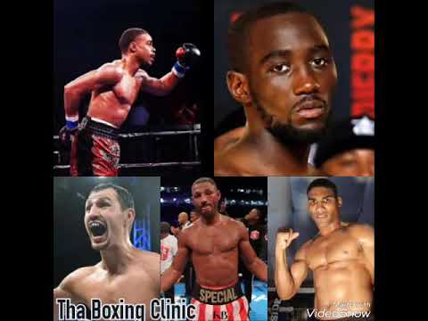 (POV) Who has Terence Crawford beaten better that's better than Kell Brook?