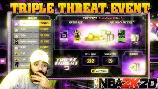 1 TOKEN PER WIN TRIPLE THREAT EVENT IN NBA 2K20 MYTEAM! 200+ WINS