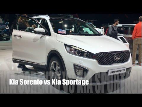 Kia Sorento 2016 Vs Kia Sportage 2016