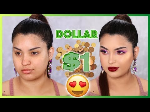 With 1 $ dollar Makeup Tutorial that worksиз YouTube · Длительность: 23 мин36 с