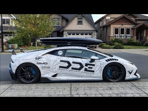 Roof Rack Lamborghini >> The SKI BOX- Most CONTROVERSIAL Lamborghini Mod! - YouTube