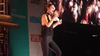 Lena - Stardust (live 2016 - mit Fliege in der Nase)