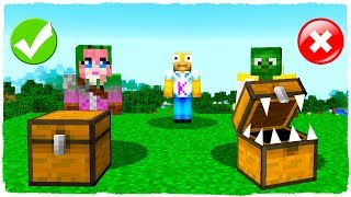 🤘 DO NOT CHOOSE THE WRONG CHEST IN MINECRAFT