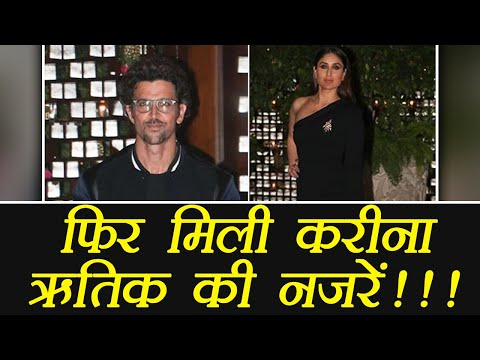 Kareena Kapoor Khan And Hrithik Roshan Ex Lovers Met At Ambani Party; Here's What Happened|FilmiBeat