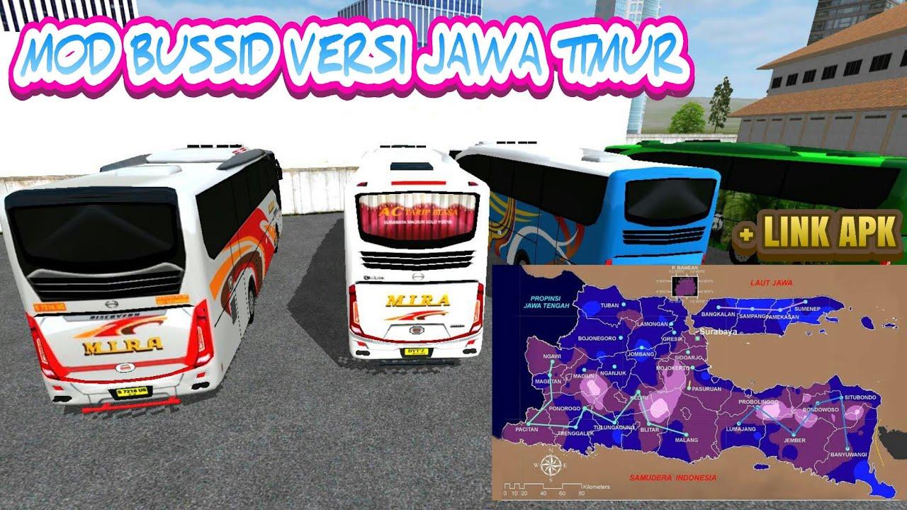 MOD BUSSID VERSI JAWA TIMUR ||| + Link Livery Bussid MIRA Hd #1