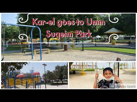 Kids Park   Kar-el goes to Umm Suqeim Park, Dubai   Kar-el the Superboy