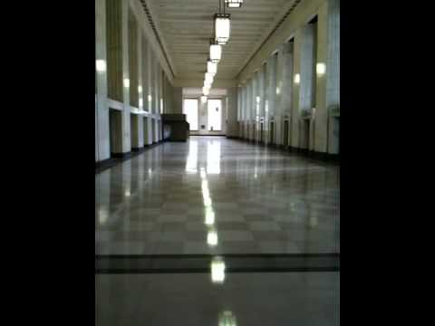 Old Main Chicago Post Office Main Lobby Youtube