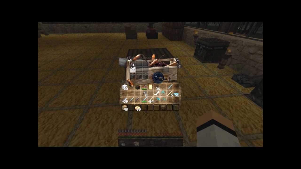 Tavolo Da Lavoro In Minecraft : Minecraft come fare un banco da lavoro forno e una cassa youtube