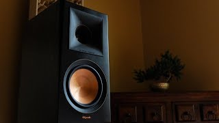 Review!  The Klipsch RP600M Loudspeakers!
