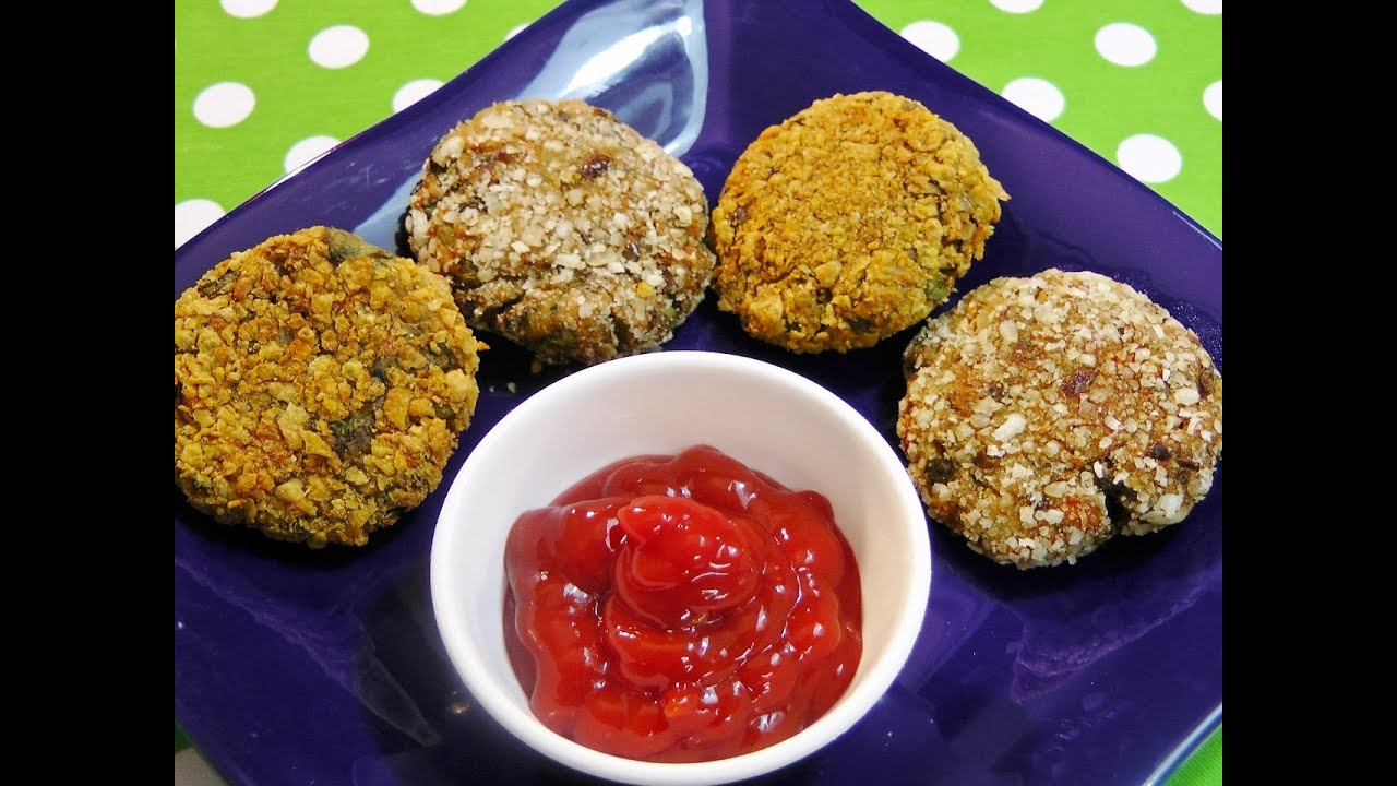 Crunchy vegetable cutlet zero oil recipe youtube forumfinder Images