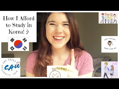 How I Afford to Study in Korea! :)
