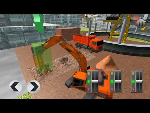 City Construction Simulator Forklift Truck game Gameplay Construction Forklift | Lets Video Games