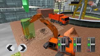 City Construction Simulator Forklift Truck game Gameplay Construction Forklift   Lets Video Games screenshot 2