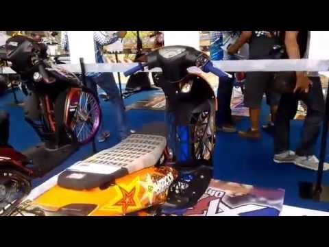 Kontes Modifikasi Motor Matic - Yamaha Cuzztomatic Jakarta (1)