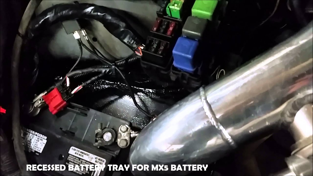 Lower Battery Sr20det Wiring Harness Dsm D16z6 Greddy Ka24de To S14 Swap Rhc Garage Youtube On
