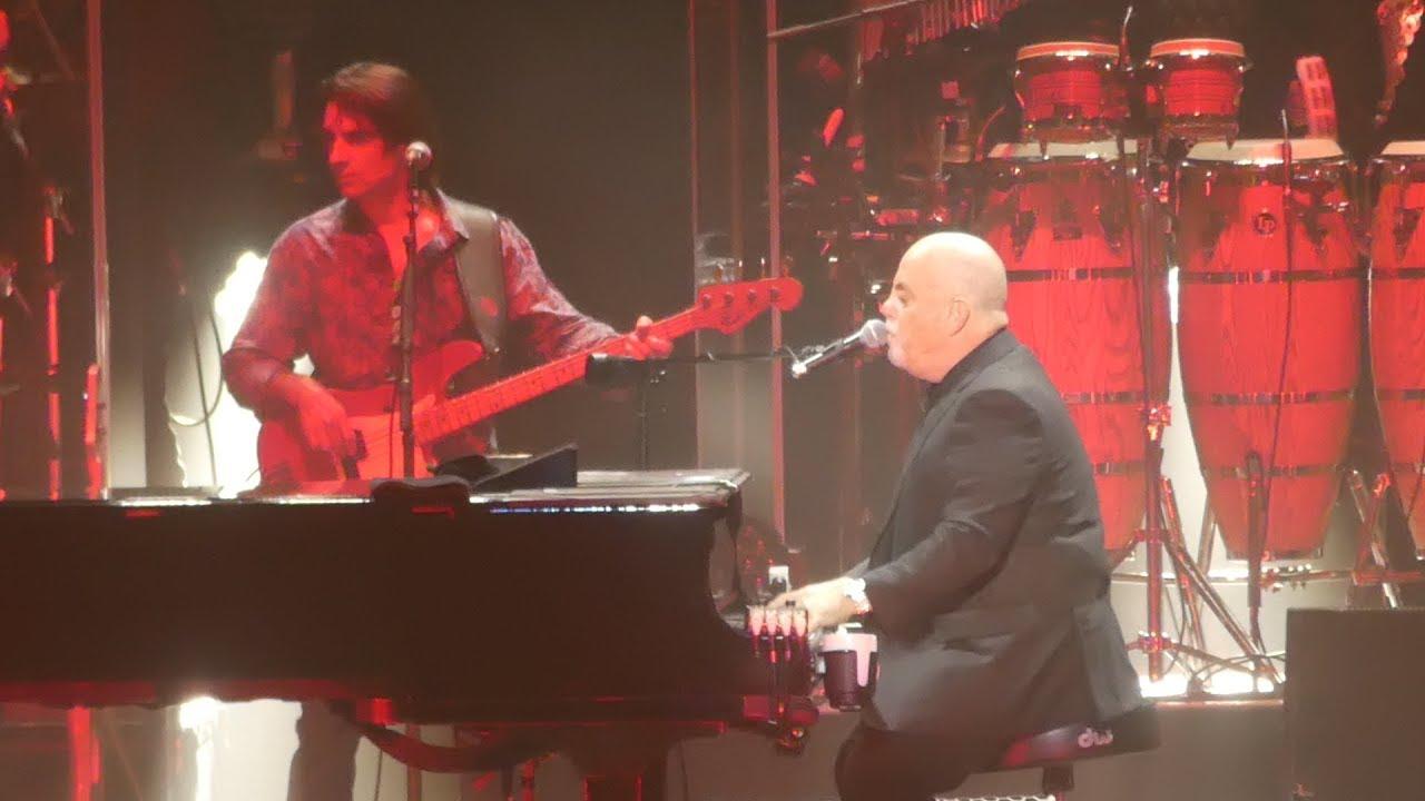 The Longest Time Billy Joel Madison Square Garden New York 3 28 18 Youtube