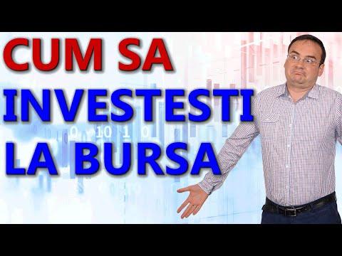 Cum investesti la bursa? Primii pasi pentru investitii la bursa