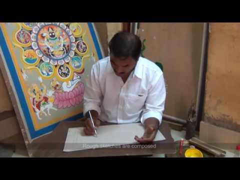 Patachitra Painting- Bhubaneswar, Orissa