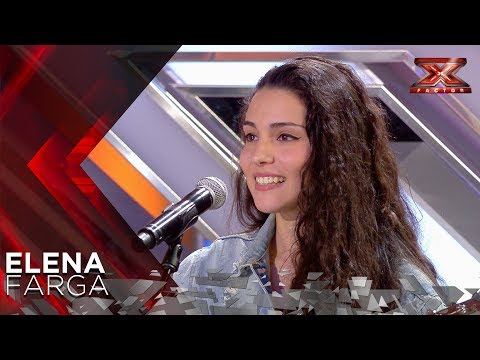 Elena Farga impresiona al jurado con 'I Will Always Love You' | Audiciones 1 | Factor X 2018