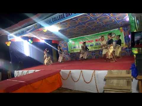 Represent by Caspian house traditional dance... 11th annual college day celebration 2017 at Yachuli