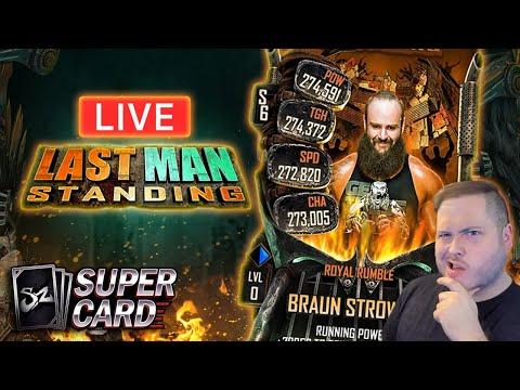 I'M BAAAAACK! BRAUN STROWMAN LMS LIVESTREAM!   WWE SuperCard