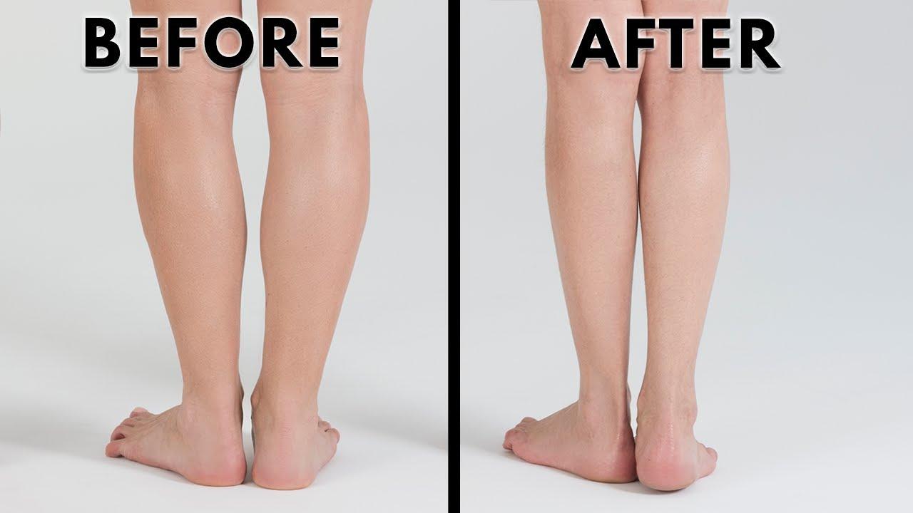slim down calves