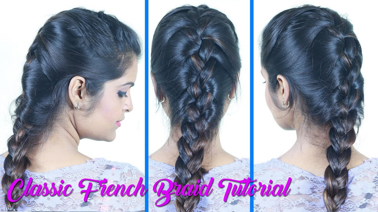 Classic French Braid How To Video DIY Video DIY Hairstyles - Hairstyle diy video