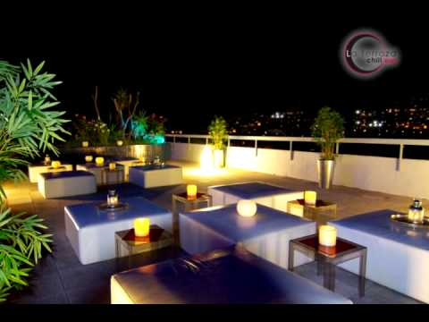 Terraza chill out del expo hotel barcelona youtube for Noche hotel barcelona