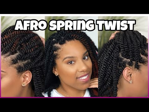 springy-afro-spring-twist|-no-braid|-no-crochet|-invisible-knot-method|-lamonicas-lab