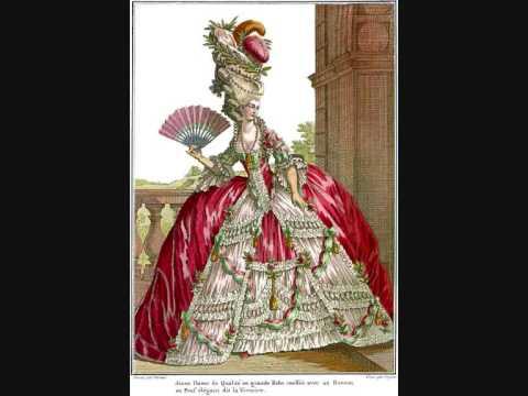 rococo fashion 1720 1790 youtube