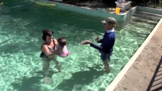 Learn to swim with babies, Lesson two - Cheeky monkey and tick tock cuckoo clock