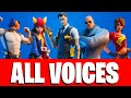 all bosses voices in fortnite season 2 chapter 2