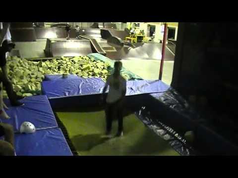 Monster Skatepark Foam Pit Trampoline