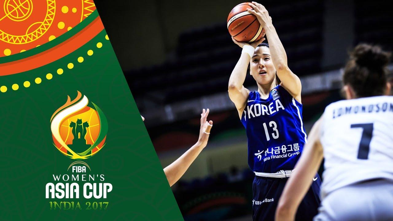New Zealand v Korea - Highlights - Quarter-Finals - FIBA Women's Asia Cup 2017