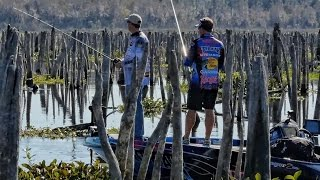 Bass Fishing a DRAINED LAKE - Rodman Reservoir - SMC Episode 12:13