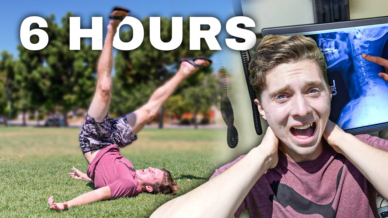 How I Learned To Backflip In 6 Hours (I Landed On My Head)