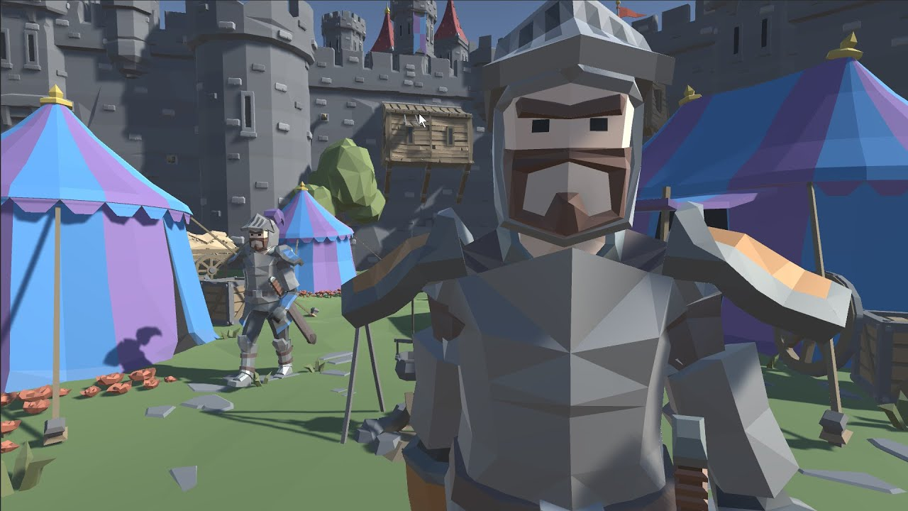 Lets BUILD a GAME - Knights & The Castle - Full Process