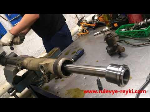 ремонт рулевой рейки мерседес мл 164