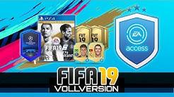 FIFA 19 FUT   Vollversion ist da! EA-Access - Erste Packs, Trades & Investments live im Stream!