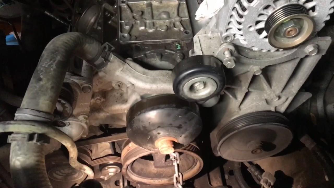 GM 5 3 2007 Harmonic Balancer bolt removal