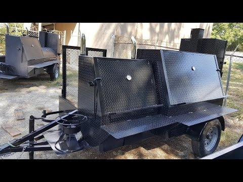 Grill Master Competition BBQ Smoker Grill Trailers for ...