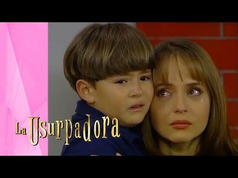 Paulina Se Reencuentra Con Carlitos   La Usurpadora - Televisa