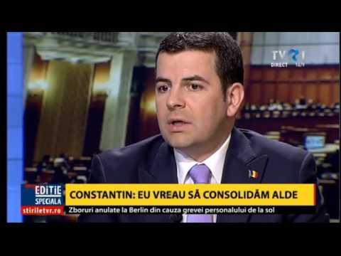 Daniel Constantin, despre tensiunile din ALDE (@TVR1)