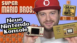Neue NINTENDO KONSOLE! GĄME & WATCH: SUPER MARIO BROS COLOUR SCREEN Unboxing