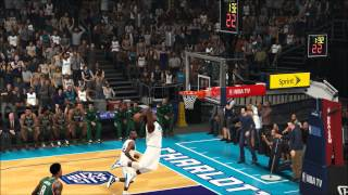 NBA 2K15 MyLeague - MKG Breaks The Rim