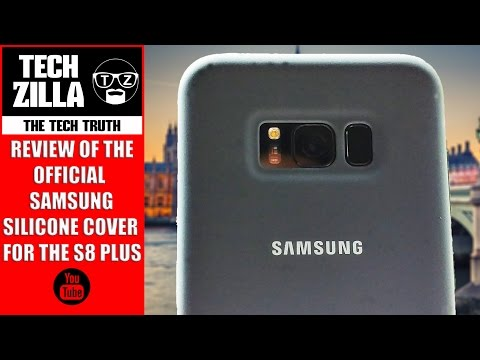 Official Samsung Silicone Cover for S8 Plus Review