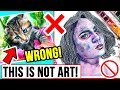 Your 'ART STYLE' is WRONG?