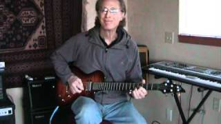In The Summertime - Mungo Jerry Guitar Looped Solo - Jim Wright