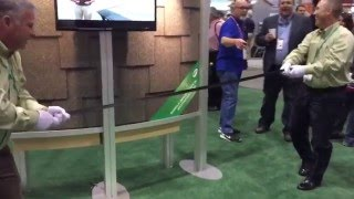Polymer Modified Asphalt Durability Demo – International Roofing Expo 2016 video thumbnail