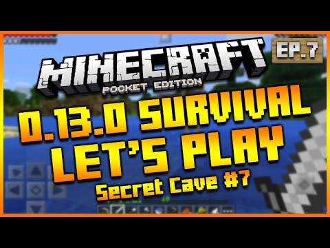 ★Minecraft Pocket Edition 0.13.0 - Let's Play Survival